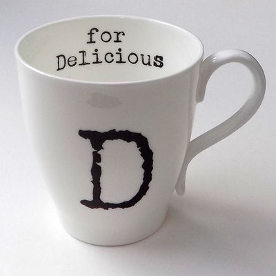 D for Delicious Mug