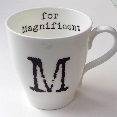 M for Magnificent Mug