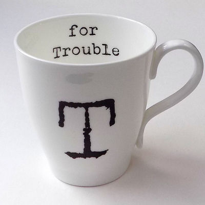 T for Trouble Mug