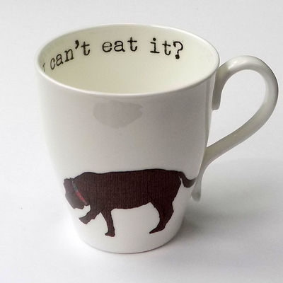 Food obsessed, me?  Labrador Mug