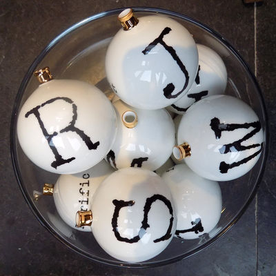 Alphabet Baubles