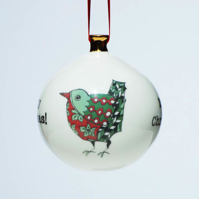 Small Robin Bauble