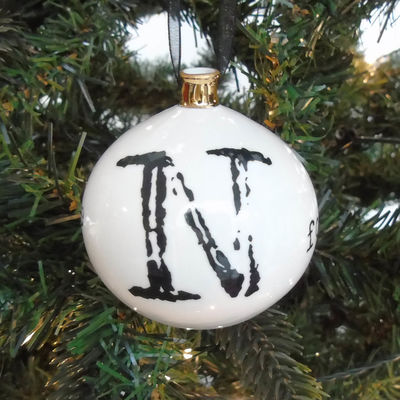 N for Naughty but Nice Bauble