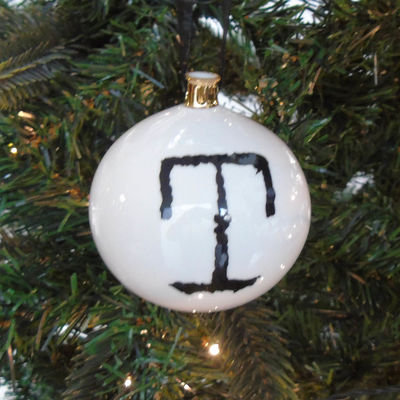 T for Terrific Bauble