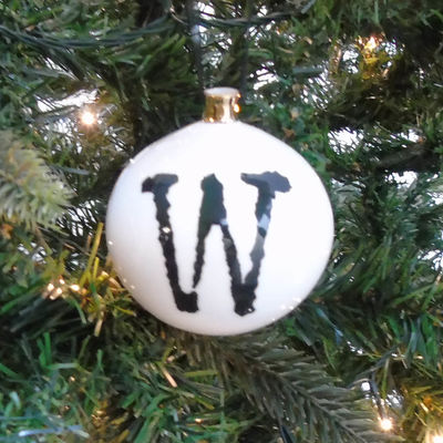 W for Wonderful Bauble