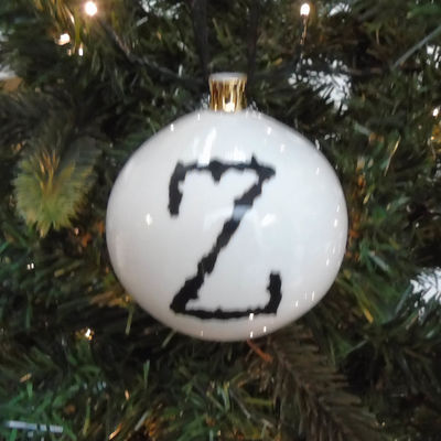 Z for Zany Bauble