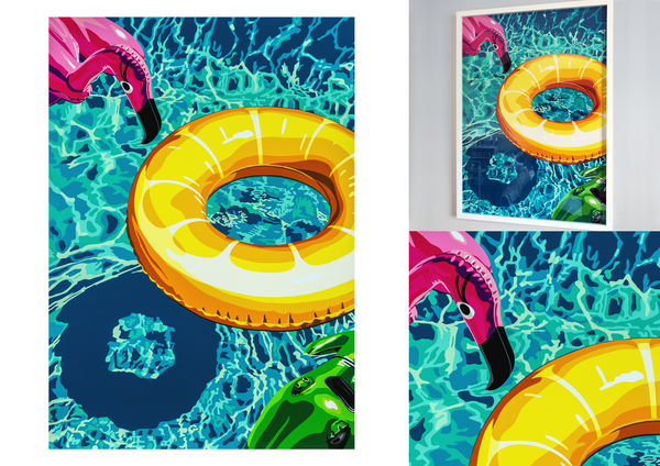 Lilos on Swimming Pool 2