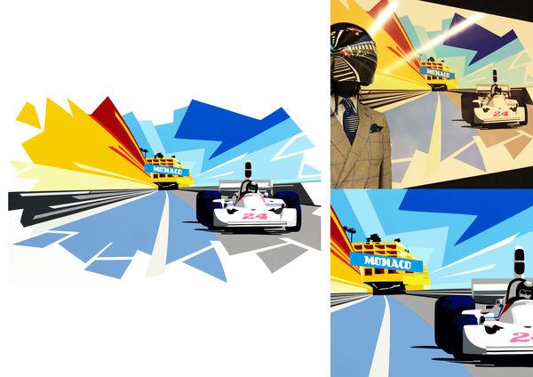 James Hunt. Monaco