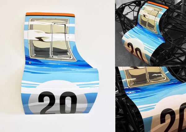 Gulf 917 Art Door