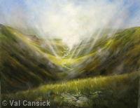 'High Cup Nick', Pennine Way, Cumbria