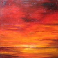 'Red Sky at Night...' by Dee McKenzie