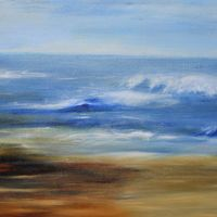 Seascape in Cornwall Dee McKenzie