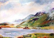 Lake Cregennan Cader Idris Dolgellau Wales