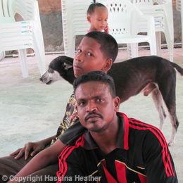 Special family in Trinidad