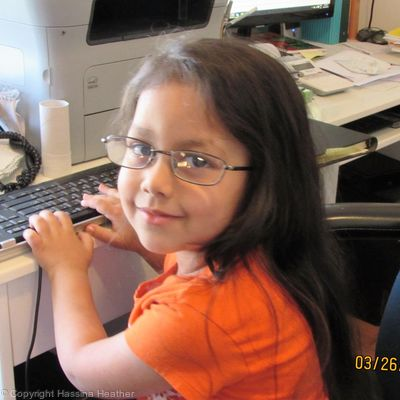 Secretary at a Young age.