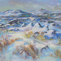 Dartmoor in snow