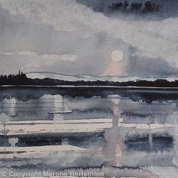 Moonlight on the Loch