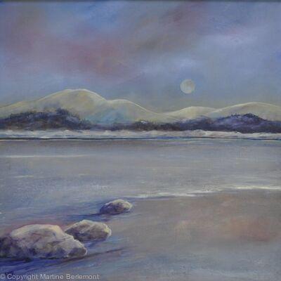 Moonlight on Loch Lomond