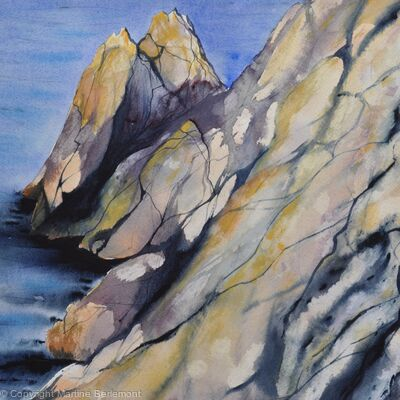Cliffs, Mull of Galloway