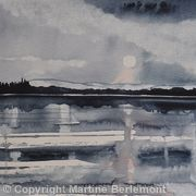Moonlight on the Loch
