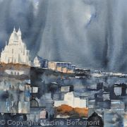 Storm Brewing over the Sacre-Coeur