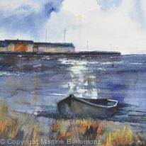 Boat by Whithorn