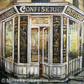 Montmartre Confiserie at Sunset