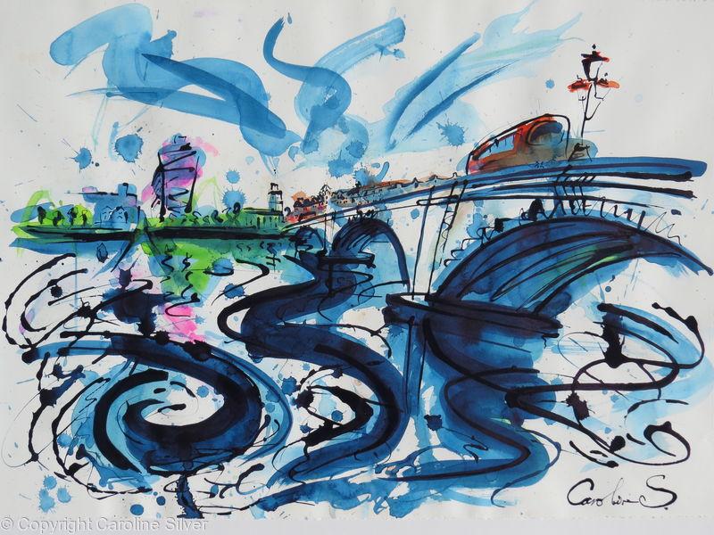 Turning of the tide @ Putney Bridge