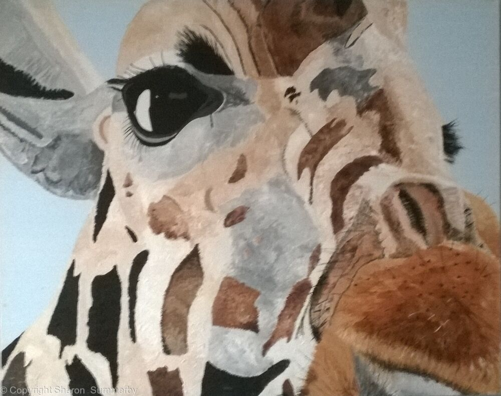 Giraffe ( My BFG - Big Friendly Giant)