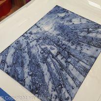 encaustic collograph plate