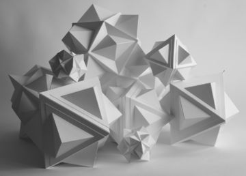 PAPERSCAPES ~ sculptures in card ~ Rhoda K. Baker