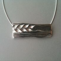 wheat field necklace