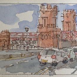 Glasgow sketch 1
