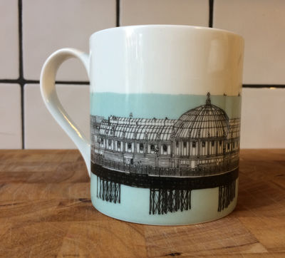Brighton Pier Mug
