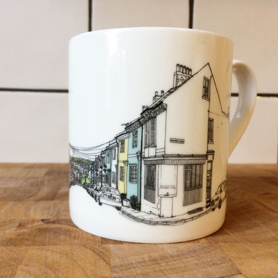 Brighton Albion Hill Mug
