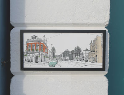 Brighton Preston Circus Print