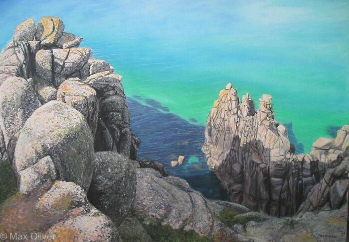 Rocks near Nanjizal, Cornwalll