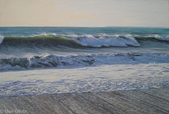 Swell, Lantic Bay, Cornwall