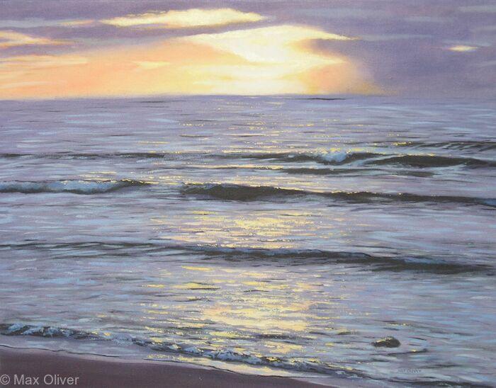 Sennen Beach Sunset, Cornwall