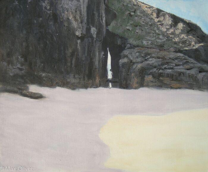 Arch at Nanjizal, Cornwall