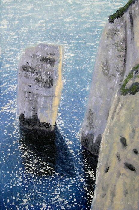 Stack Study, Nr Old Harrys Rock, Dorset