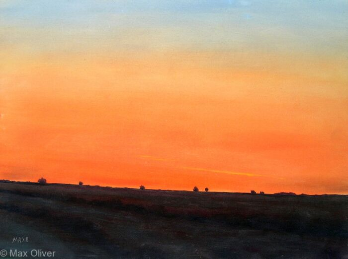 Sunset, Rosenun, Cornwall