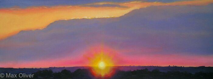 Sunset Over Liskeard