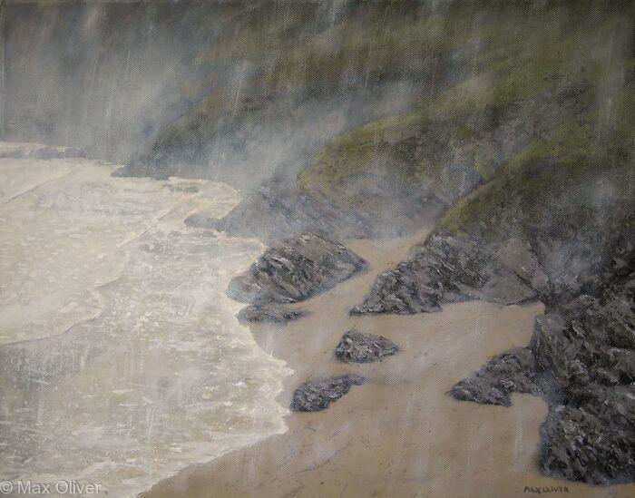 Lantic Bay in the Rain
