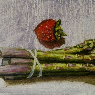 Asparagus and Strawberry