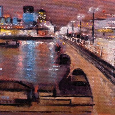 Waterloo Bridge Night