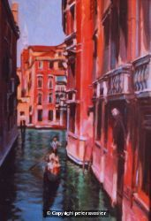 warm buildings cool canal - venice