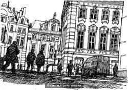 prague street scene 2