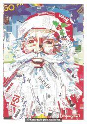 christmas card for customers