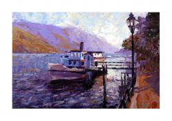 Paddle Steamer - Lake Como